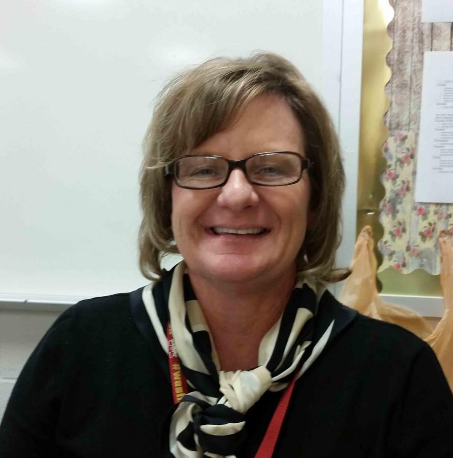 English II and Pre-Ap English II teacher, Mrs. Wood.