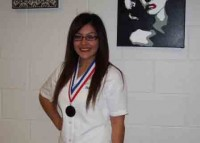 Skills USA winner, Marisol Sanchez for Silver Nail Care.