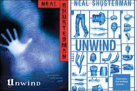 Cover of Simon & Schuster's Unwind, written by Neal Shusterman.