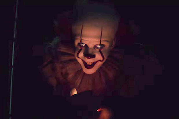 Bill Skarsgard as Pennywise the Dancing Clown.