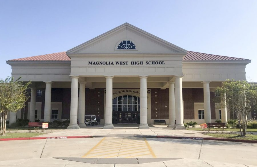 Magnolia West received a B in the state grading system informing parents how schools are performing.